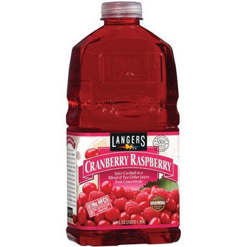 Langers Cranberry Raspberry Juice Cocktail, 64 fl oz