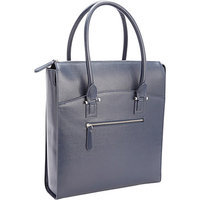 Royce Leather RFID Blocking Saffiano Leather Travel Carryall Laptop Tote Bag