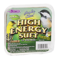 Brown's Garden Chic! High Energy Suet For Wild Birds