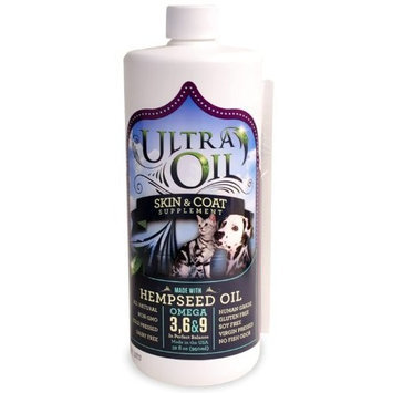 Ultra Oil Skin Coat Supplement with Hempseed Oil (32 oz)