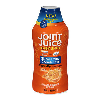 Joint Juice Citrus Natural Flavor Easy Shot Supplement