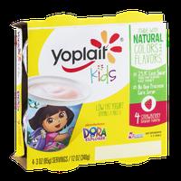 Yoplait® Kids Low Fat Yogurt Dora The Explorer Strawberry Yogurt