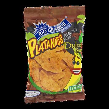 Rio Grande Platanitos Plantain Chips Sweet