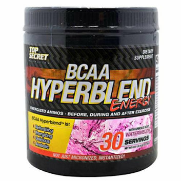 Top Secret Nutrition BCAA Hyperblend Energy Watermelon 5.92 oz