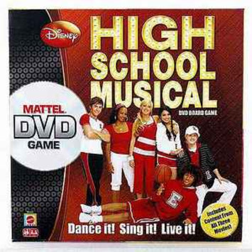 Mattel High School Musical 3 DVD Game Ages 6 and up