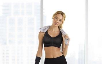 Victoria's Secret Sport Knockout by Victoria's Secret Front-Close Sport Bra