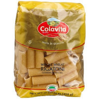 Colavita Whole Wheat Rigatoni, 16-Ounce Bags (Pack of 20)