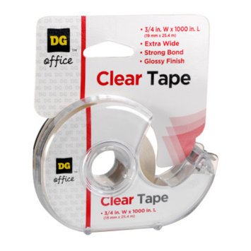 DG Office Clear Tape