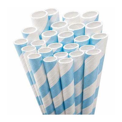 Advantus Aardvark Paper Straws Jumbo Straw Unwrapped