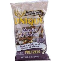Unique Pretzels Garlic and Onion -- 11 oz