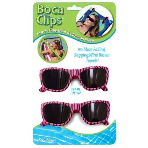 USA Pool Better Things Boca Beach Towel Clips Sunglasses