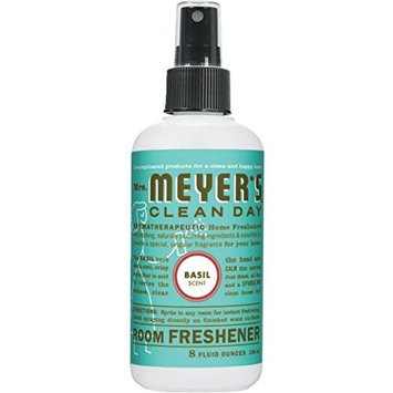 Mrs. Meyer's Clean Day - Mrs. Meyer's Basil Room Freshener, 8 fl oz liquid