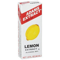 Adams Extract Adams Lemon Extract, 1.5 fl oz