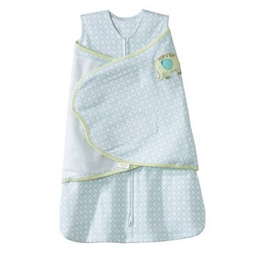 HALO 100% Cotton SleepSack Swaddle Blanket, Print Boy, Newborn (Discontinued by Manufacturer)
