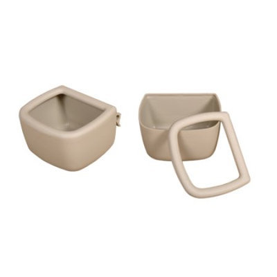 Marshall Pet Products MR00395 Snap N Fit Small Animal Bowl - 1 Cup