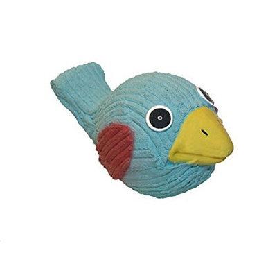 HuggleHounds Ruff-Tex Blue Bird Dog Toy - Large