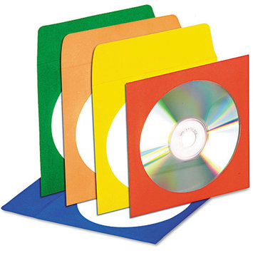 INNOVERA Innovera CD/DVD Envelopes with Clear Window IVR39404