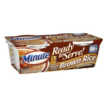 Minute Rice Ready to Serve Brown Rice - 2 CT