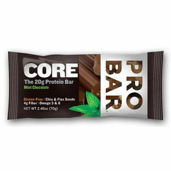 Probar Organic Mint Chocolate Core Bar Case of 12 2.46 oz