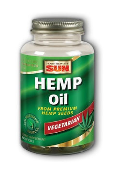 Hemp Oil Health From The Sun 60 VCaps