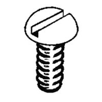 Stainless Stl Screws, 1-72x3/8
