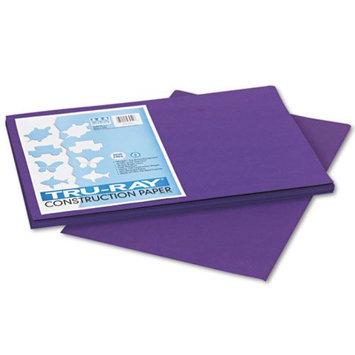 Pacon Tru-Ray Construction Paper, Purple