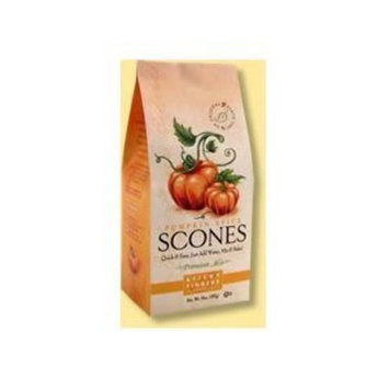 Sticky Fingers Bakeries Premium English Pumpkin Spice Scone Mix, 15 Ounce -- 6 per case.