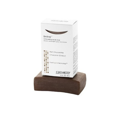 Giovanni Bathe exfoliating Body Bar, Hot Chocolate, 5.3 -Ounce (Pack of 2)