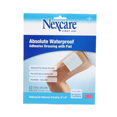 Nexcare Absolute Waterproof Adhesive Dressing wtih Pad