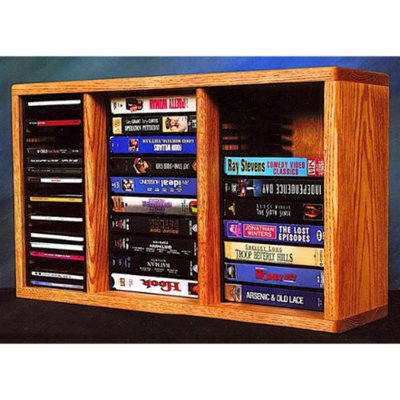 Wood Shed 24 in. Desktop Combination Rack w Individual Locking Slots (Clear)