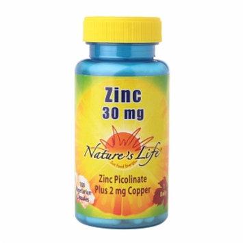 Nature's Life Zinc 30mg