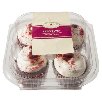 Archer Farms Red Velvet Cupcakes with Cream Cheese Filling 4 ct
