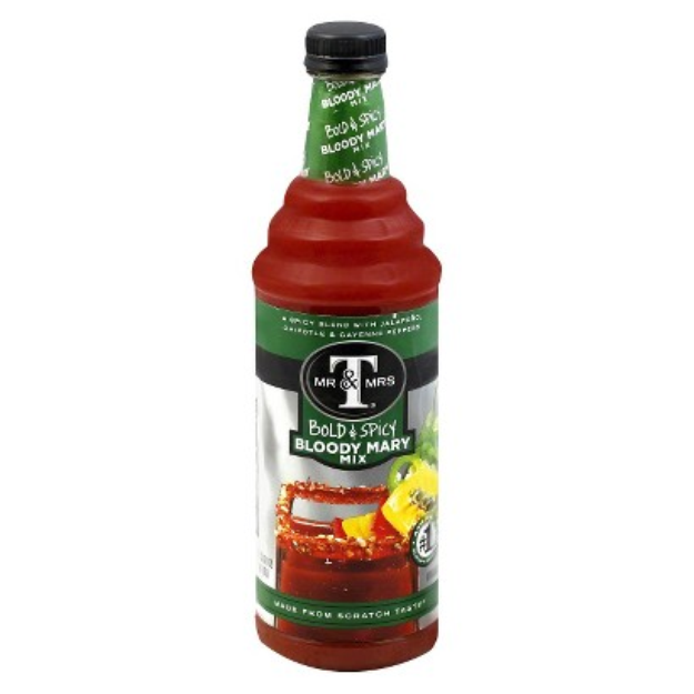 Mr & Mrs T's Mr & Mrs T Bold & Spicy Bloody Mary Mix 1 l