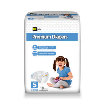 DG Baby Diapers Convenience Package- Size 5 - 18ct