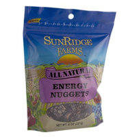 Sunridge Farms Energy Nuggets, 8-Ounce Bags (Pack of 12)