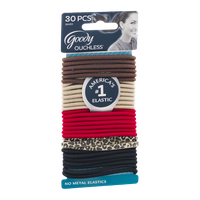 Goody Ouchless No Metal Elastics - 30 CT