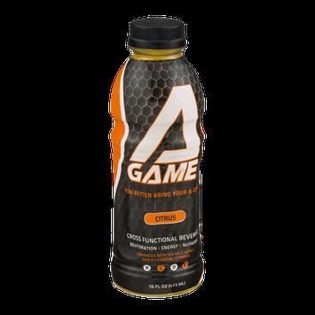 AGame Cross Functional Beverage Citrus