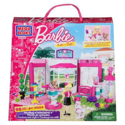 Mega Bloks Barbie Build 'n Play PetShop