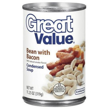 Great Value: Bean With Bacon Condensed Soup, 11.25 Oz