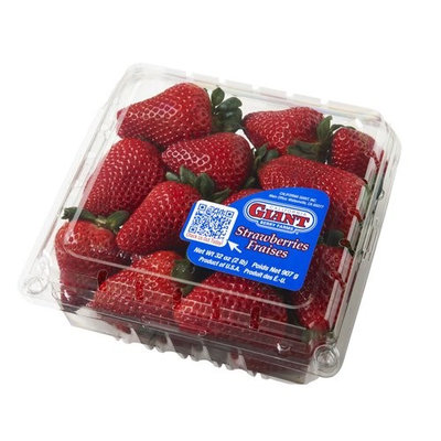 Giants California Giant Strawberries, 32 oz
