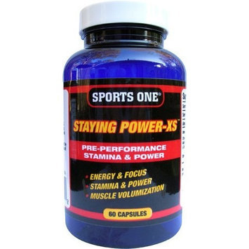 Sports One Staying Power XS, 60-capsule Bottle
