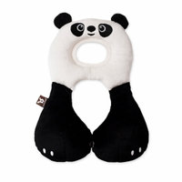BenBat Travel Friends Head Neck Support 1-4 Yrs PANDA, Black White, 1 ea