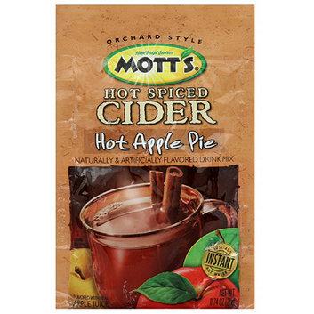 Mott's Hot Apple Pie Drink Mix