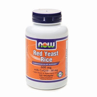 NOW Foods Red Yeast Rice 600mg with CoQ10