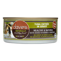 Dave's Pet Food Dave's Cat Food Grain-Free Tuna Entre in Gravy