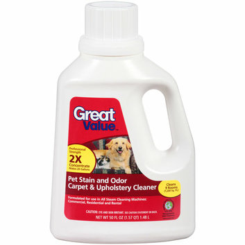 Great Value Pet Stain and Odor Carpet & Upholstery Cleaner