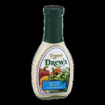 Drew's Organic Dressing & Quick Marinade Peppercorn Ranch