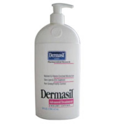 Dermasil Advanced Treatment Creamy Lotion For Dry Skin - 10 Oz
