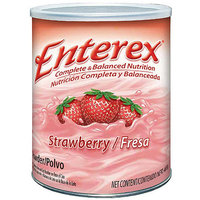Enterex Complete & Balanced Nutrition Strawberry Powder Drink