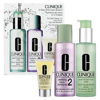 Clinique 3-Step Care System 3 Pieces Set Very Dry to Dry Combination Skin
